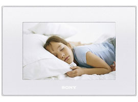 Sony DPFD75W Digital Photo Frame