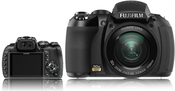 Fujifilm HS10+16GB SDHC Card+Case